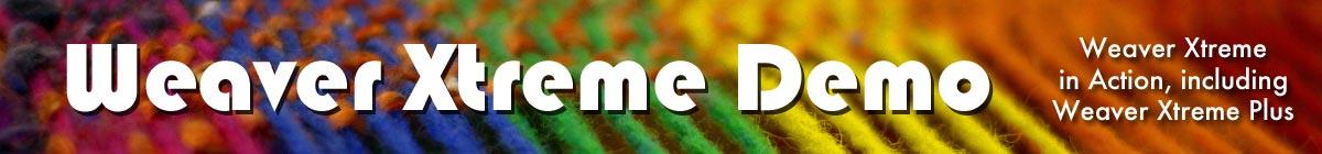 Weaver Xtreme Theme Demo